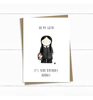 BD/Oh My Goth Wednesday Addams