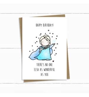 BDB/Elsa Birthday
