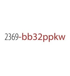 PPKW/Baun Top 32 No Disp*