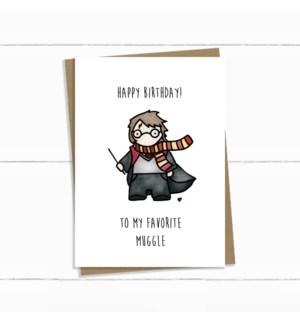 BDB/Muggle Harry Potter Bday