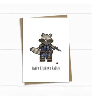 BDB/Rocket Rabbit Birthday
