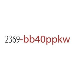 PPKW/Baun Top 40 No Disp*