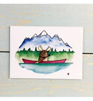 MAG/Moose In Canoe