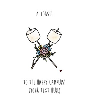 EDB/Toast To Happy Campers