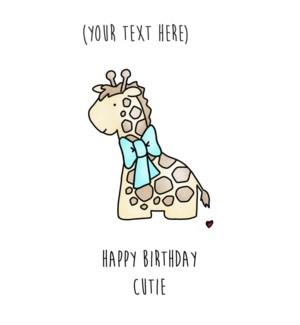 BD/Happy Birthday Cutie