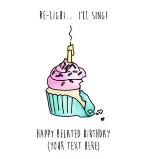 BD/Belated Cupcake