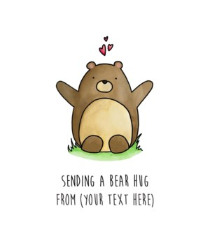 ND/Sending A Bear Hug