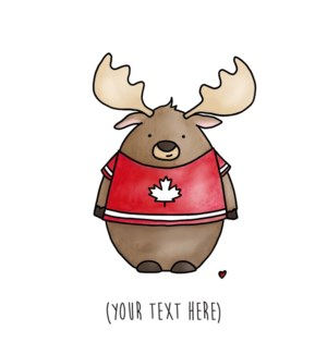 ND/Moose In Canadian T-Shirt