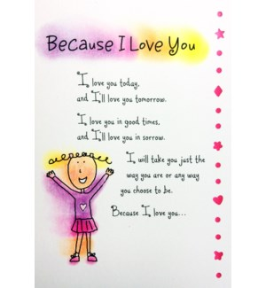 RO/Because I Love You