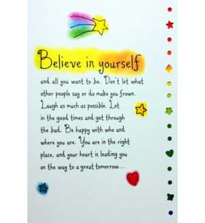 EN/Believe In Yourself