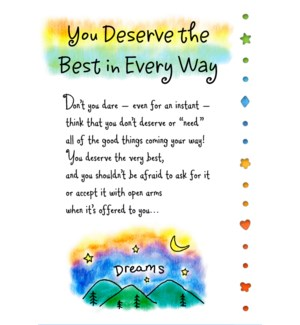 RO/You Deserve The Best