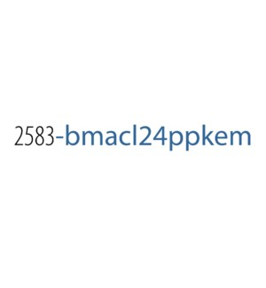 PPKE/BMACL 24 (Multi) No Disp*
