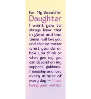 BM/For My Beautiful Daughter