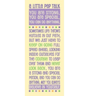 BM/A Little Pep Talk