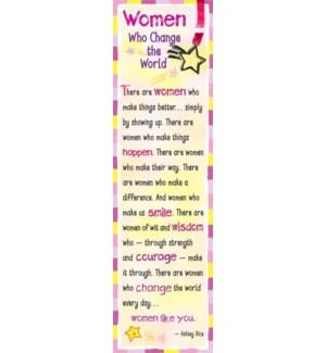BM/Women Who Change The World