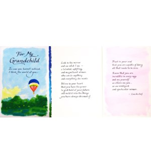GRANDCHILD/For My Grandchild