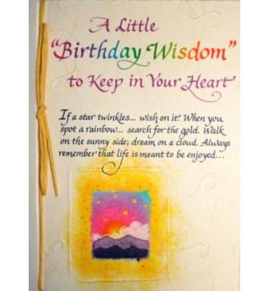 BD/Birthday Wisdom