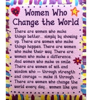 MAG/Women Who Change The World