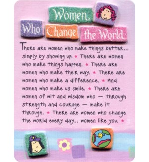 EASEL/Women Who Change The