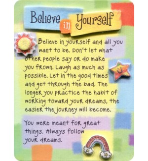 EASEL/Believe In Yourself