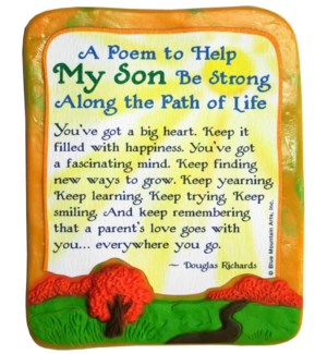 MAGNET/A Poem To Help My Son
