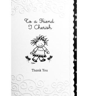 TY/To A Friend I Cherish