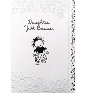 DA/Daughter Just Because