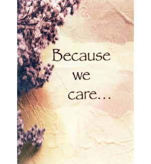 SY/Because We Care