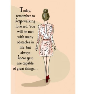 FR/Today Remember To Keep Walk