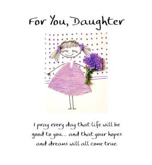 DA/For You, Daughter/I Pray
