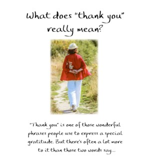 TY/What Does Thank You Mean
