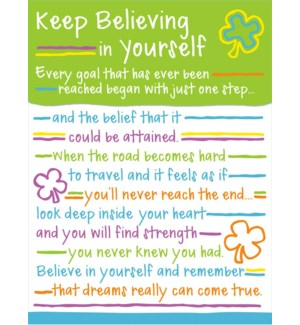 PPAD/Believing In Yourself