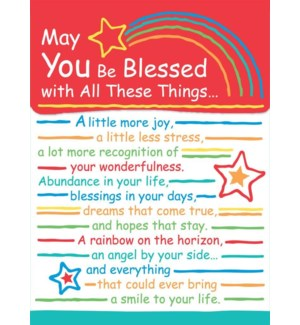 PPAD/May You Be Blessed With
