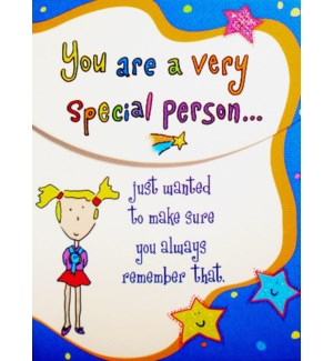 PPAD/You Are A Very Special