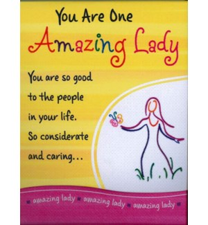 PPAD/You Are One Amazing Lady