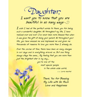 PRINT/Daughter I Want You To