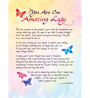 PRINT/You Are One Amazing Lady