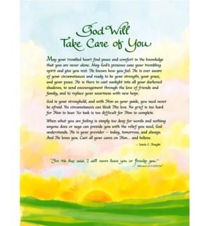 PRINT/God Will Take Care Of Yo