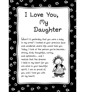 PRINT/I Love You My Daughter