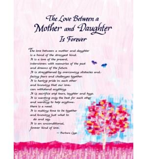 PRINT/Love Between Mom/Daughtr