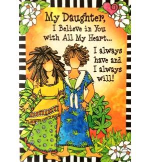DA/My Daughter, I Believe