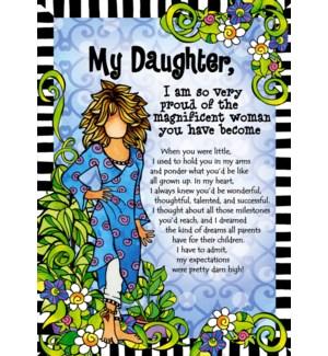 DA/My Daughter, I Am