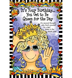 BD/Its Your Birthday You Get