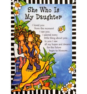 DA/She Who Is My Daughter