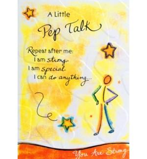 EN/A Little Pep Talk