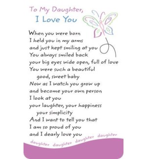 WLTCRD/To My Daughter I Love