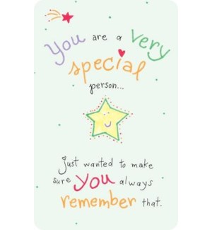 WLTCRD/You Are A Very Special