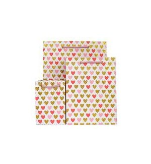 GIFTBAG/Mini Heart Pink