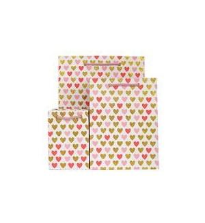 GIFTBAG/Mini Heart Pink
