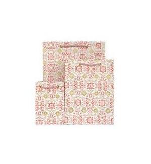 GIFTBAG/Boho Tile Pink
